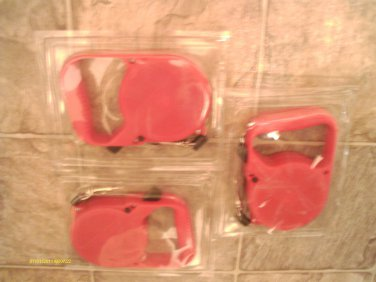 (12) pcs RED Retractable DOG LEASH 10' LONG up to 20 LB DOG