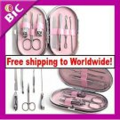 7Pcs Stainless Steel Nail Care Manicure Set Kit + Free shipping to worldwide!