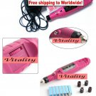 Electric Nail Art Drill Manicure Machine + Free shipping!