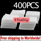 400 x Nail Wipes Remover + Free shipping!