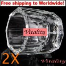 2 X Glass Crystal Cup + Free shipping!