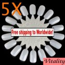 5 x Nail Art Display Wheel + Free shipping!