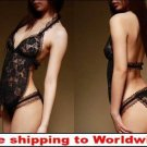 Black Sexy Women Lace Lingerie + Free shipping to worldwide!