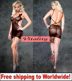 Sexy Fishnet Body Stockings + Free shipping to worldwide!