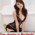 Black Sexy Hot Women Girl Lace Lingerie + Free shipping to worldwide!