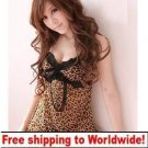 Leopard Grain Black Sexy Lace + Free shipping to worldwide!