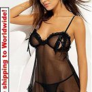Cute And Playful Sheer Lingerie + Free shipping to worldwide!