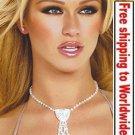 Sexy Fashion Rhinestone Tie Necklace + Free shipping to worldwide!