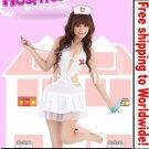 Sexy Lingerie Lolita Nurse Costume + Free shipping to worldwide!