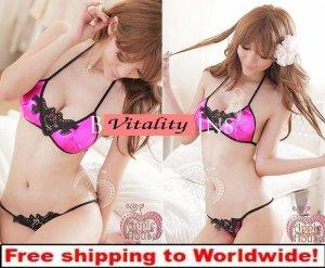 Sexy Women Hollow Openings Low Waist Bikini Lingerie + Free shipping to worldwide!