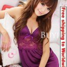 Women Embroidered Lace Nightdress Lingerie + Free shipping to worldwide!