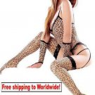 Sexy Lingerie Leopard Underwear Garter Teddy Dress 6 PCS + Free shipping to worldwide!
