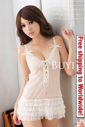 Sexy Women Lace nightdress Lingerie 15 + Free shipping to worldwide!