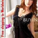 Backless Lace Lingerie Nightdress 16 + Free shipping to worldwide!