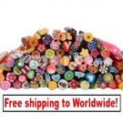 100pcs Cute 3D Nail Art FIMO Decoration tm 10002124  + Free shipping to worldwide!