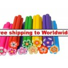 10pcs Cute 3D Flower Nail Art FIMO Decoration tm 10004347 + Free shipping to worldwide!