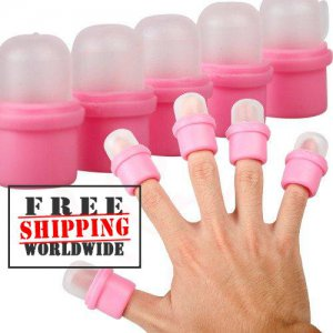 10pcs Wearable Nail Soak Cap tmH01167 + Free shipping to worldwide!