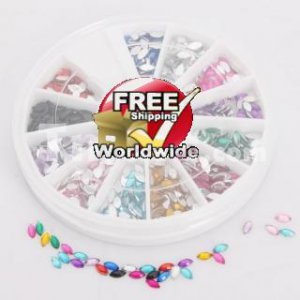 Nail Art Rhinestones tm0004227 + Free shipping to worldwide!