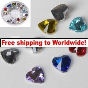 Heart Nail Art Rhinestones tm10004210+ Free shipping to worldwide!