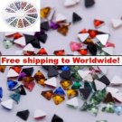 1800 pcs Nail Art Glitter Tips Rhinestone tm10003141 + Free shipping to worldwide!