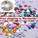 1800pcs Nail Art Rhinestone Heart tm10003140+ Free shipping to worldwide!