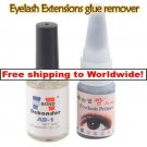 Eyelash Extension Black Glue + Glue Remover BC + Free shipping to worldwide!