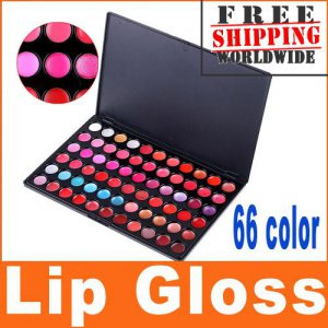 1 x 66 Color Lip Gloss Palette BC + Free shipping to worldwide!