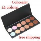 12 Colors Concealer Palette Camouflage Neutral Cream Set BC + Free shipping to worldwide!
