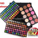 183 Color Palette Set 168 Eyeshadow 15 colours blush BC + Free shipping to worldwide!