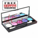 5 Color Eye Metallic Brush Eyeshadow Palette BC+ Free shipping to worldwide!