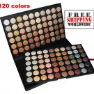 1 x 120 Color Eyeshadow Set 4 BC + Free shipping to worldwide!