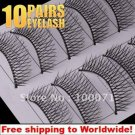 10 x Pair False Eyelashes 0# BC+ Free shipping to worldwide!