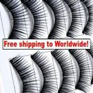 10 x Pair False Eyelashes #169 BC+ Free shipping to worldwide!