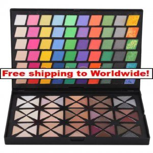 1 X 120 Full Color Eyeshadow Palette BC+ Free shipping to worldwide!
