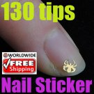 1 x Golden Spider Pattern Stickers BG+ Free shipping to worldwide!