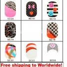 1 sheet Nail Foil Stickers (12 stickers) BG+ Free shipping to worldwide!