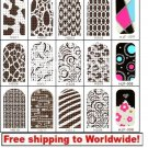 1 sheet Nail Foil Stickers (16 stickers) BG + Free shipping to worldwide!