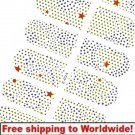 Shiny Stars and Dots Pattern Patch BG+ Free shipping to worldwide!