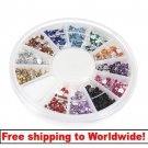 1 x glitter nail wheel BG+ Free shipping to worldwide!