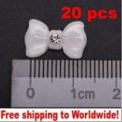 20pcs nail big bow tie BG+ Free shipping to worldwide!