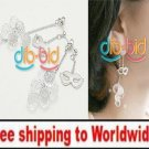 Earrings Masquerade Mask Tassel Pearl Cocktail Party  + Free shipping to worldwide!