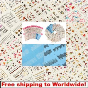 Water Transfer Stickers Nail Art Tips Decals BG+ Free shipping to worldwide!