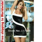 White and Black Sexy Lingerie Dresses Short Party+ Free shipping to worldwide!