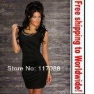 Black Seductive Sexy Mini Dress+ Free shipping to worldwide!