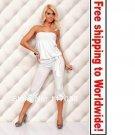 White Sleeveless Dresses + Free shipping to worldwide!