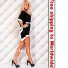 Black Hot Selling Fashion Clubwear Charming Lady Dress+ Free shipping to worldwide!