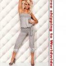 Grey Sleeveless Dresses + Free shipping to worldwide!