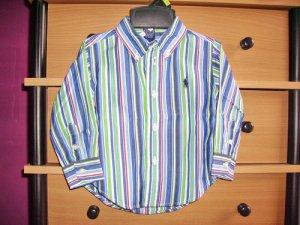 CW28: 12mos Ralph Lauren Collared Long Sleeve Top