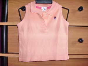 CW33: 6-12mos Baby Gap Sleeveless Collared Top
