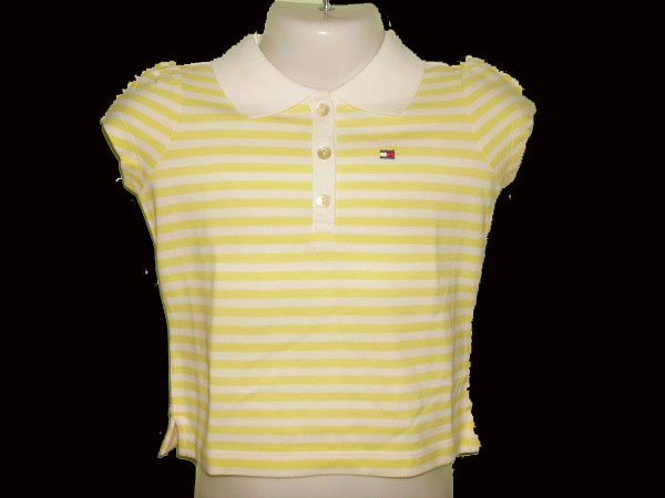 CW91: 3T Tommy Hilfiger S/Sleeve Collared Polo